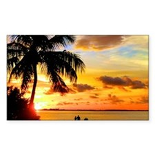 Watching Sunset Over Sanibel I Decal