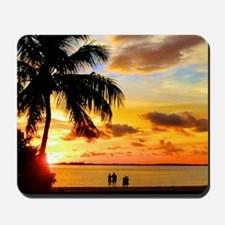 Watching Sunset Over Sanibel Island Mousepad