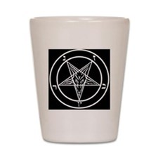 Baphomet Pentagram Shot Glass
