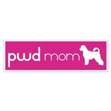 PWD Mom Bumper Bumper Sticker