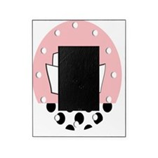 RN Clock pink bw Picture Frame