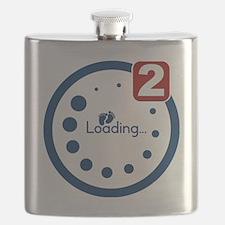 Baby Loading , Twin Notification Flask