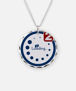 Baby Loading , Twin Notifica Necklace