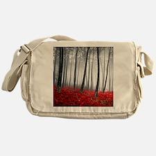 Winter Forest Messenger Bag