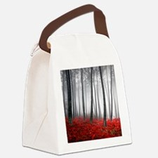 Winter Forest Canvas Lunch Bag