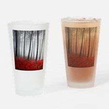 Winter Forest Drinking Glass