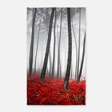 Winter Forest 3'x5' Area Rug