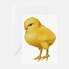 Vintage Easter Chick Greeting Cards (Pk of 10)