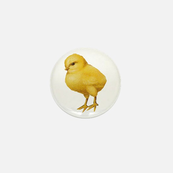 Vintage Easter Chick Mini Button (10 pack)