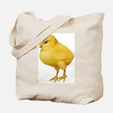 Vintage Easter Chick Tote Bag