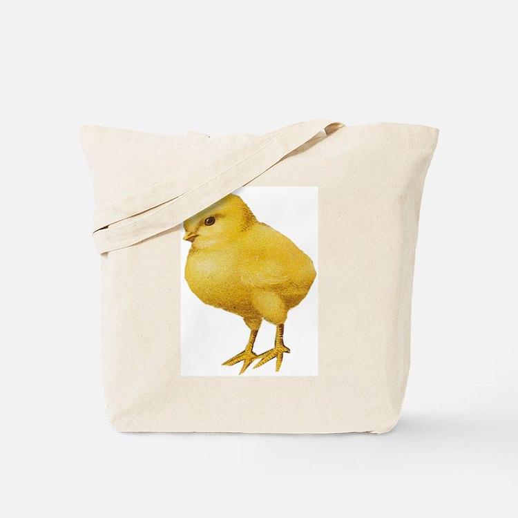 Vintage Easter Chick Tote Bag