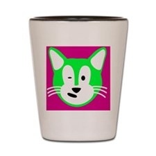 Sam Cat for Leather Card Wallet Shot Glass