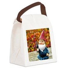Gnome Field II Canvas Lunch Bag