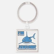 Im Jawsome Square Keychain