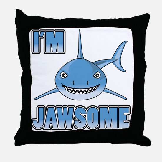 Im Jawsome Throw Pillow