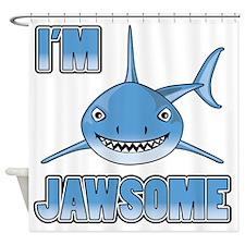 Im Jawsome Shower Curtain