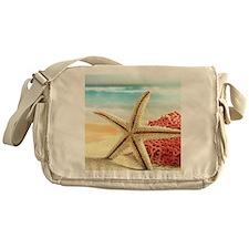 Summer Beach Messenger Bag