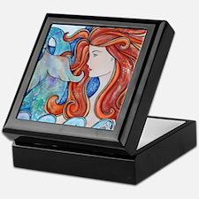 Mermaid Moon Keepsake Box