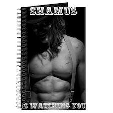 Shamus is Watching You Full Body Poster Journal