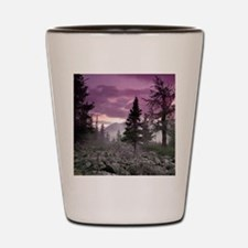 Beautiful Forest Landscape Shot Glass