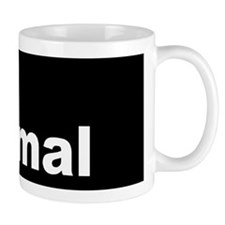 Not Normal Dark button Mug