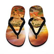Australian Sunset Flip Flops