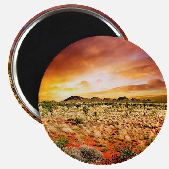Australian Sunset Magnet