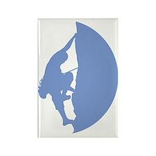 Climber Logo Rectangle Magnet