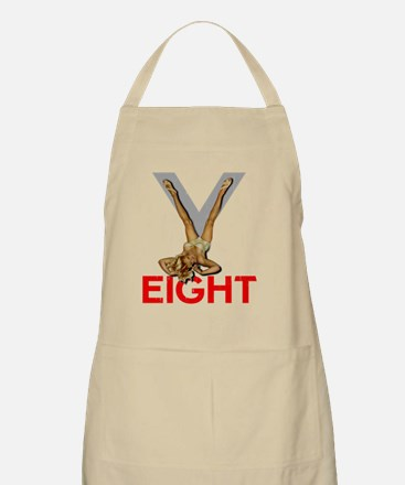 V8 ENGINE DARK copy Apron