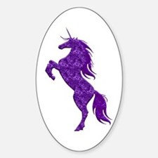 Purple Unicorn Decal