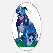Blue Pit no background Decal
