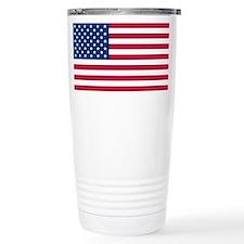 US Flag large Travel Mug