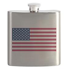 US Flag large Flask