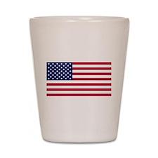 US Flag large Shot Glass