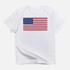 US Flag large Infant T-Shirt
