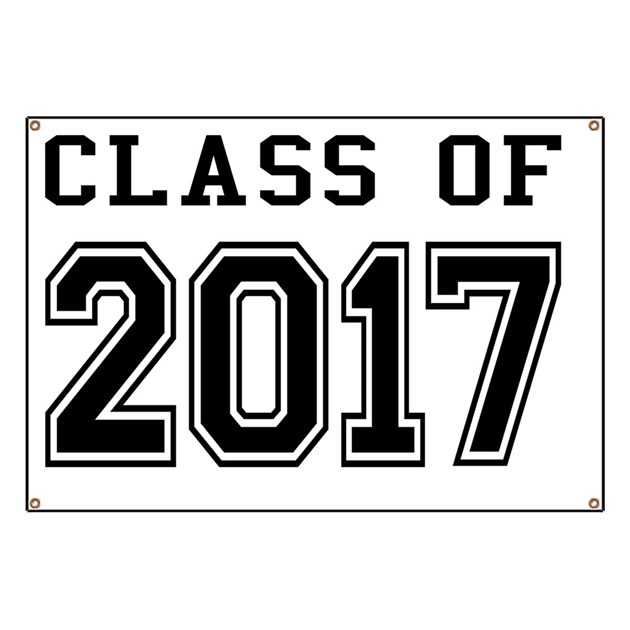 Class Of 2017 Banner By ADMIN CP1053336