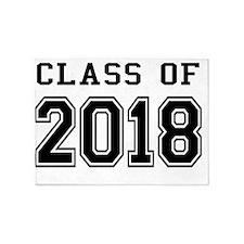 Class of 2018 5'x7'Area Rug