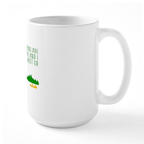 Mountains Are Calling Large Mug