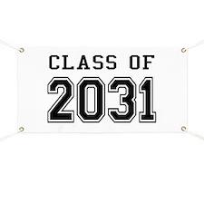 Class of 2031 Banner
