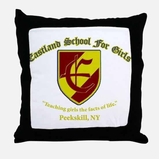 Eastland School Throw Pillow