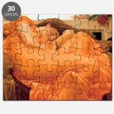 Flaming June-Rectangle Cropt Puzzle