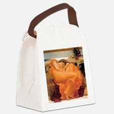 Flaming June-Full Size Canvas Lunch Bag