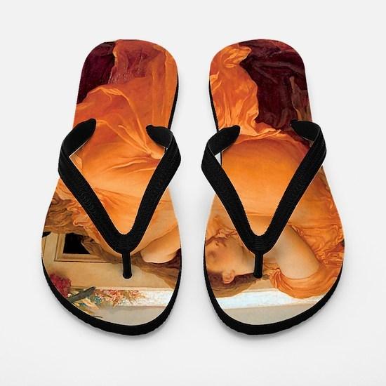 Flaming June-Full Size Flip Flops