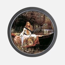 The Lady Of Shallot - 1- 18x13.693 Wall Clock