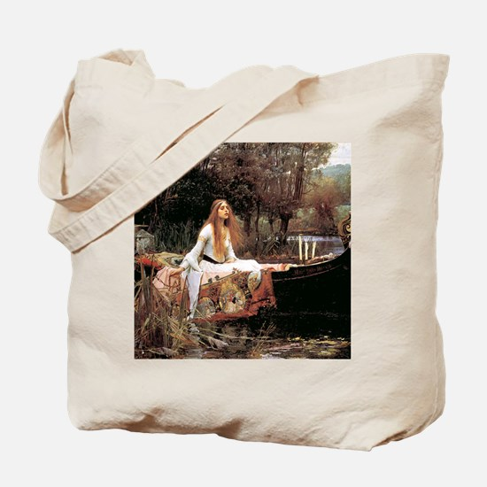The Lady Of Shallot - 1- 18x13.693 Tote Bag