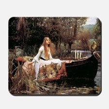 The Lady Of Shallot - 1- 18x13.693 Mousepad