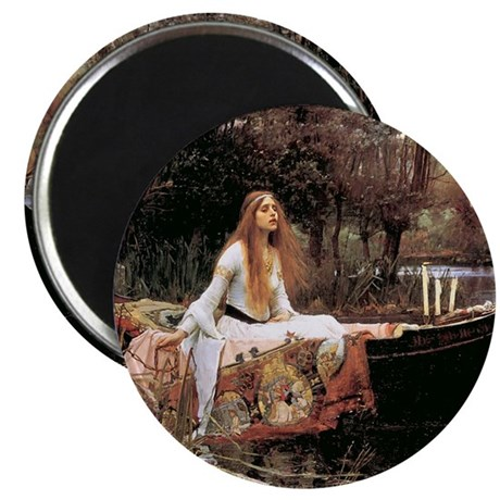 The Lady Of Shallot - 1- 18x13.693 Magnet