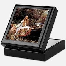 The Lady Of Shallot - 1- 18x13.693 Keepsake Box