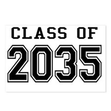 Class of 2035 Postcards (Package of 8)