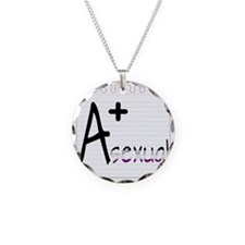 A+sexual Necklace Circle Charm